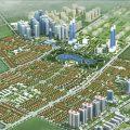 Khuôn viên xanh toàn khu đô thị Dương Nội